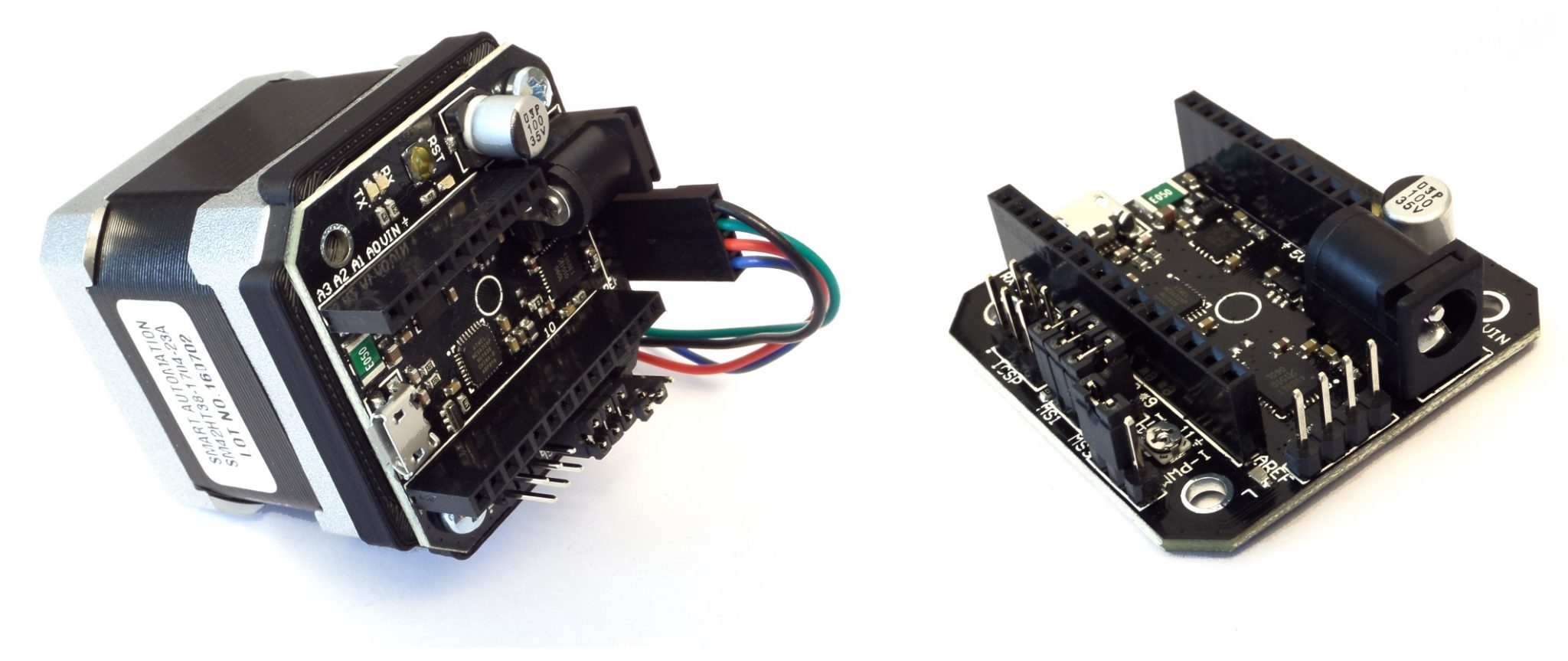 New Rev B - now with programmable torque and super easy mounting!